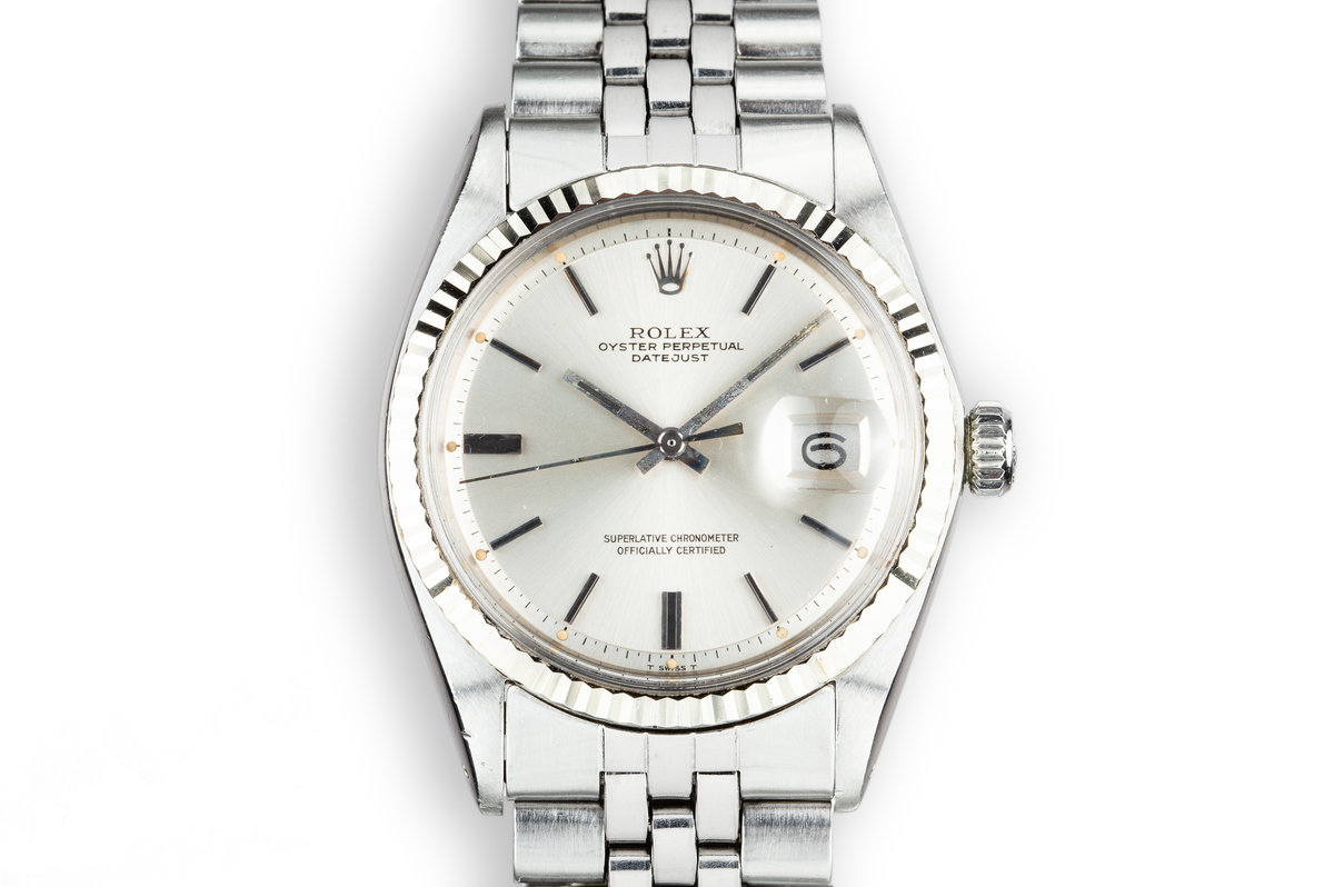1973 Rolex DateJust 1601 Silver Dial photo, #0
