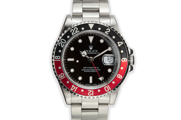 "1995 Rolex GMT-Master II 16710 ""Coke"" photo"