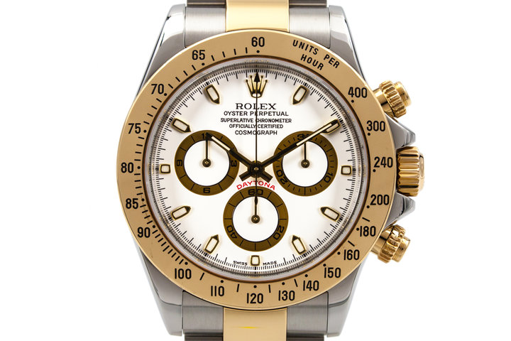 2003 Rolex Two Tone Daytona 116523 with Box and Papers photo