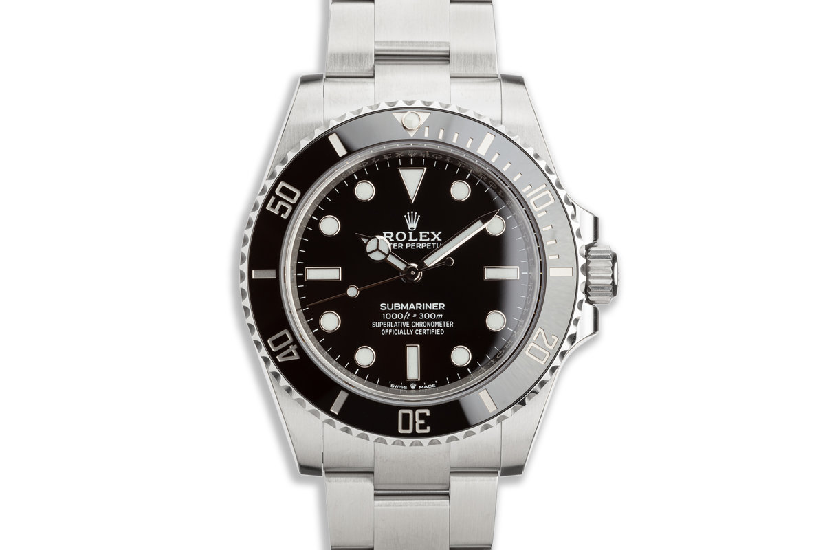 NEW 41MM 2020 Rolex Submariner No-Date 124060 with Box, Card & Stickers photo, #0