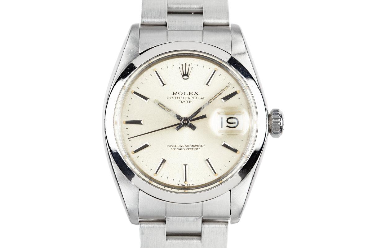 1969 Rolex Date 1500 Silver Dial photo, #0