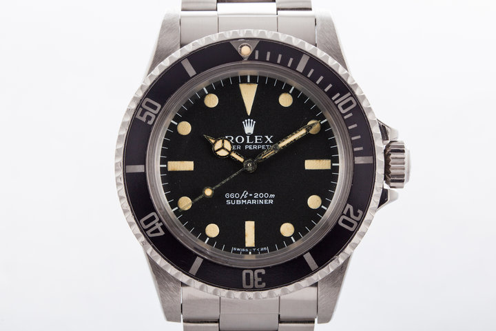 1971 Rolex Submariner Ref: 5513 with Box and Papers  photo