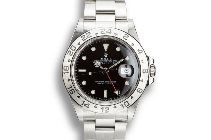 1997 Rolex Explorer II 16570 Black Dial photo