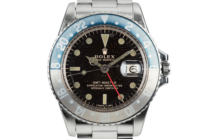 1966 Rolex GMT-Master 1675 with Spotted Gilt Dial photo