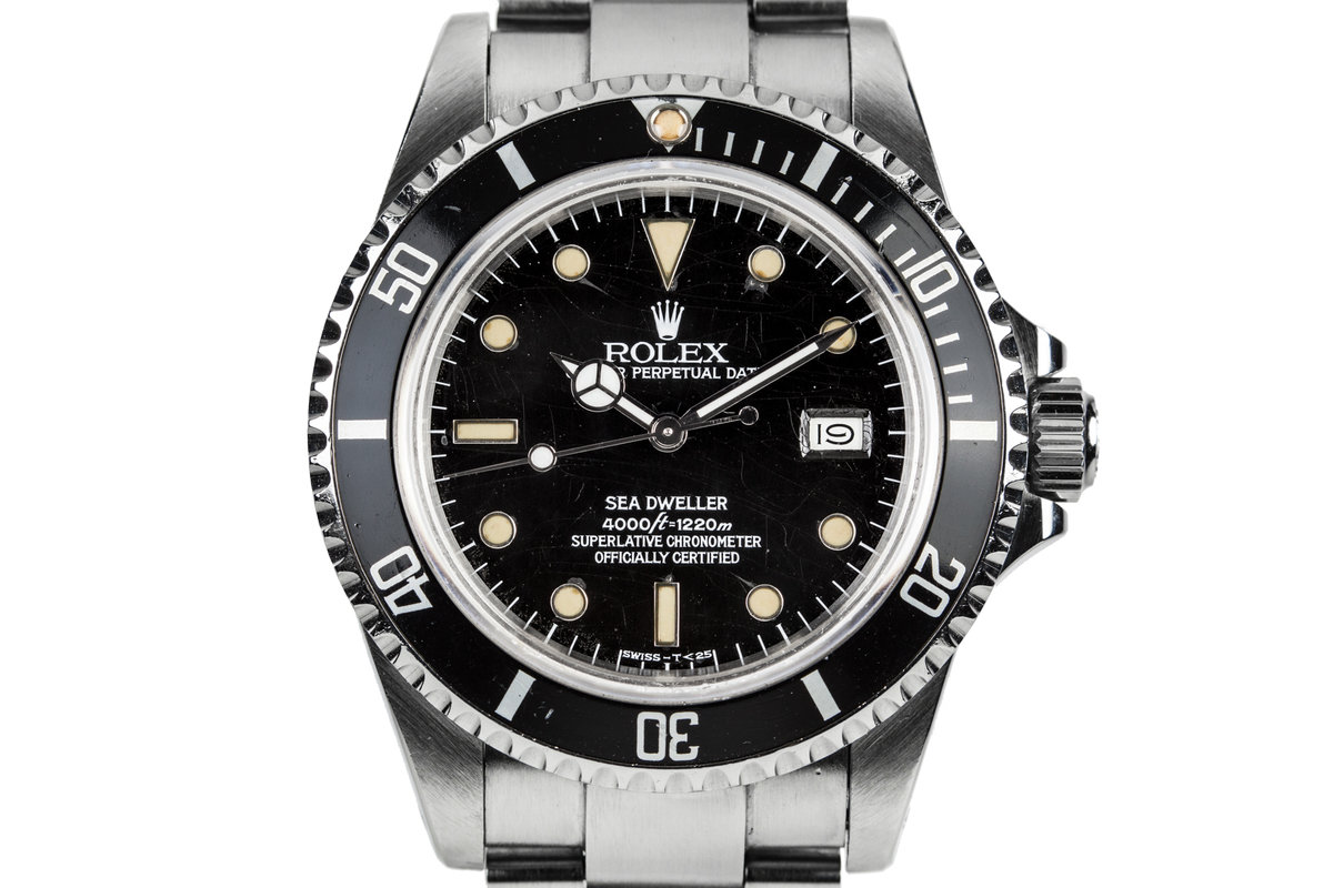 "1983 Rolex Sea-Dweller 16660 with ""Spider"" Dial photo, #0"