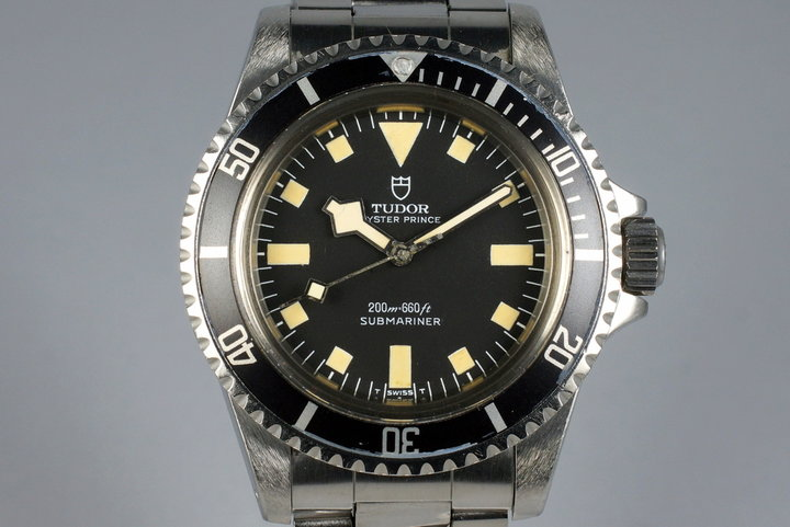 1977 Tudor Submariner 94010 Black Snowflake photo