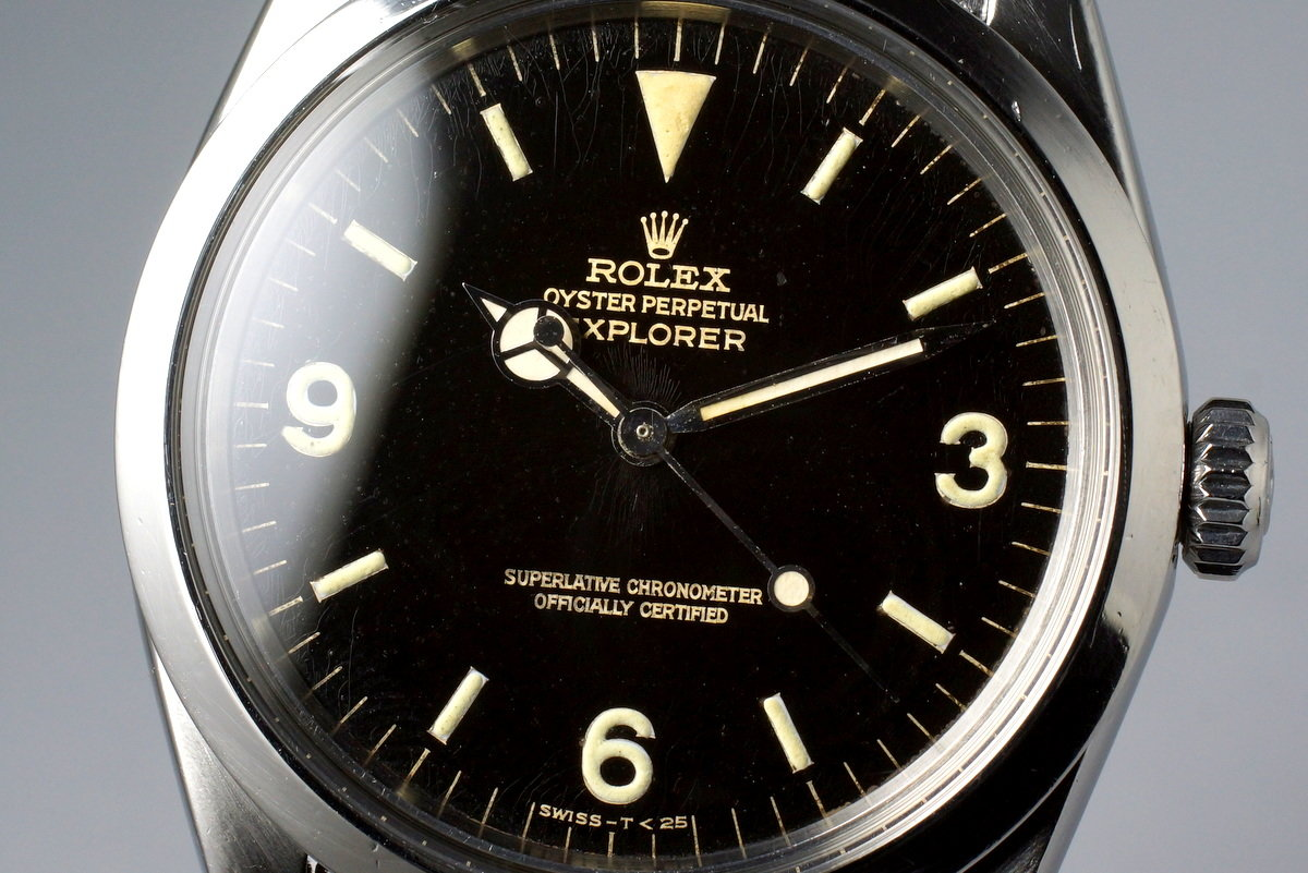 1966 Rolex Explorer 1 1016 Glossy Gilt Dial photo, #4