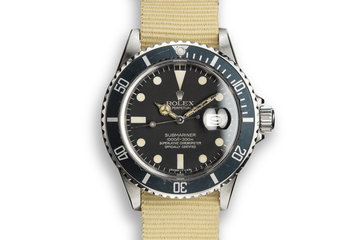 1982 Rolex Submariner 16800 photo