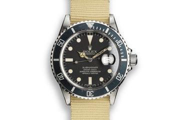 1982 Rolex Submariner 16800 photo