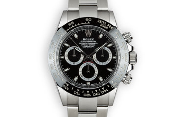 2018 Rolex Ceramic Daytona 116500LN Black Dial with Box and Papers photo