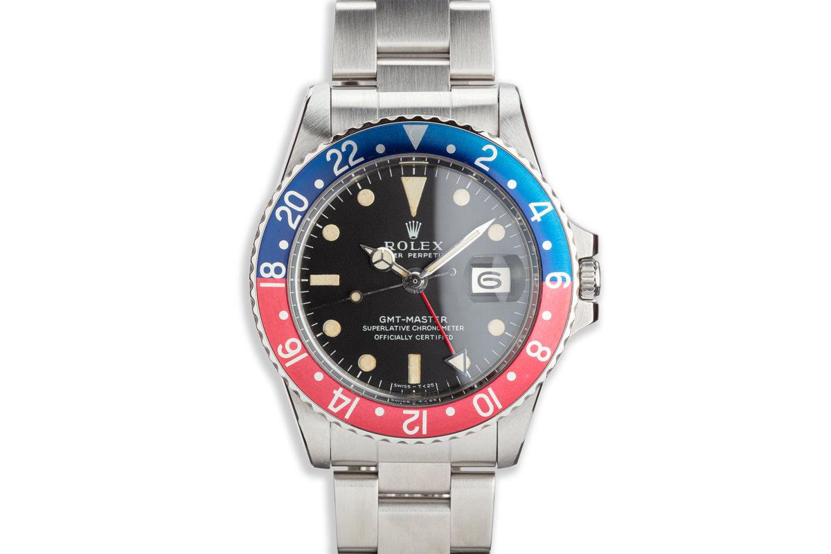 """1968 Vintage Rolex GMT-Master """"Long E"""" 1675 photo, #0"""