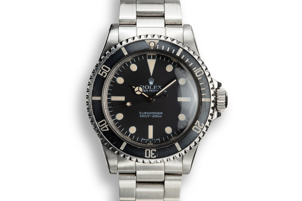 1984 Rolex Submariner 5513 with MK V Maxi Dial photo, #0