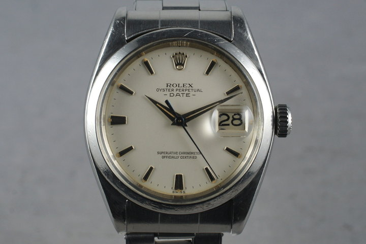 1960 Rolex Date 1500 with Papers photo