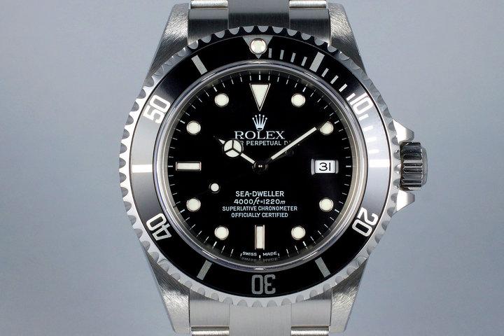 2001 Rolex Sea Dweller 16600 photo