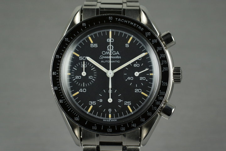 1991 Omega Speedmaster Reduced 3510.50 Calibre 1140 photo