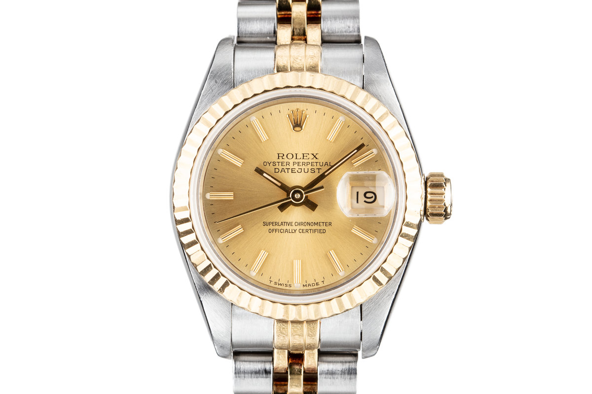 1991 Rolex Ladies Two Tone DateJust 69173 photo, #0