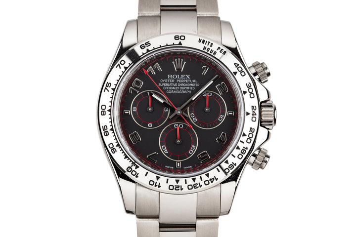 2006 Rolex 18K White Gold Daytona 116509 photo