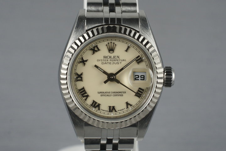 2002 Rolex Ladies Datejust 79174 with Cream Dial photo