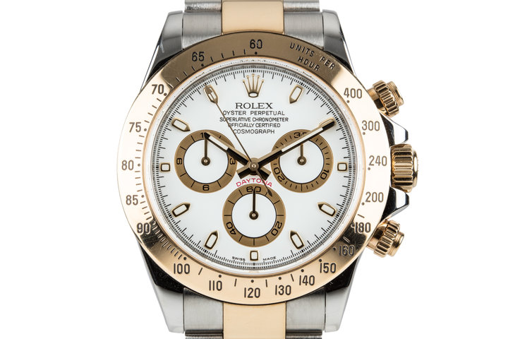 2012 Rolex Two Tone Daytona 116523 with Box and Papers photo
