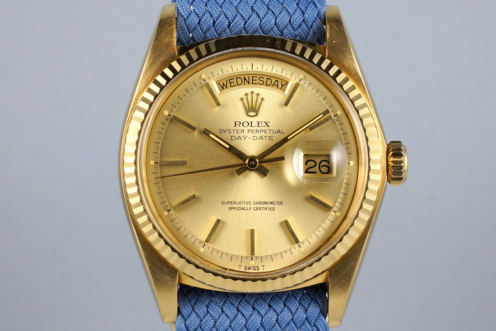 1972 Rolex YG Day-Date 1803 with Champagne Dial photo