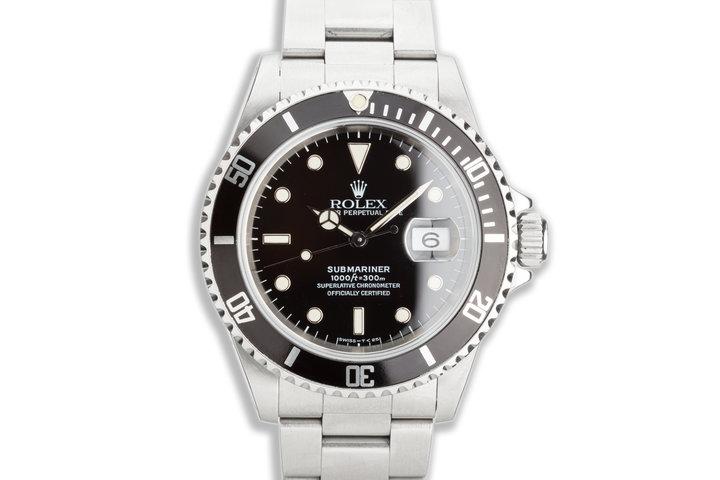 1996 Rolex Submariner 16610 photo