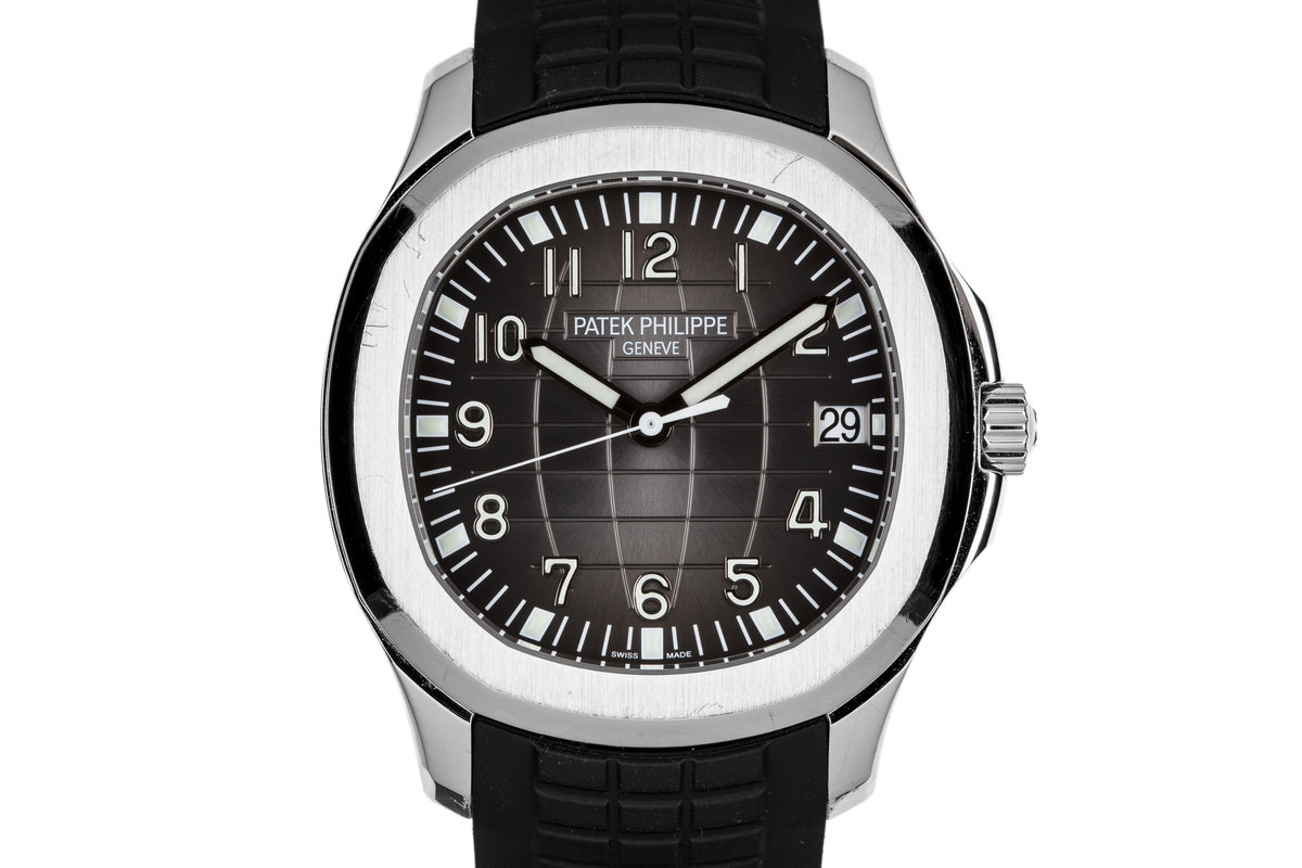 2013 Patek Philippe Aquanaut 5167A-001 with Box and Papers photo, #0