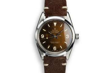 1966 Rolex Explorer 1016 with Tropical Gilt Dial photo
