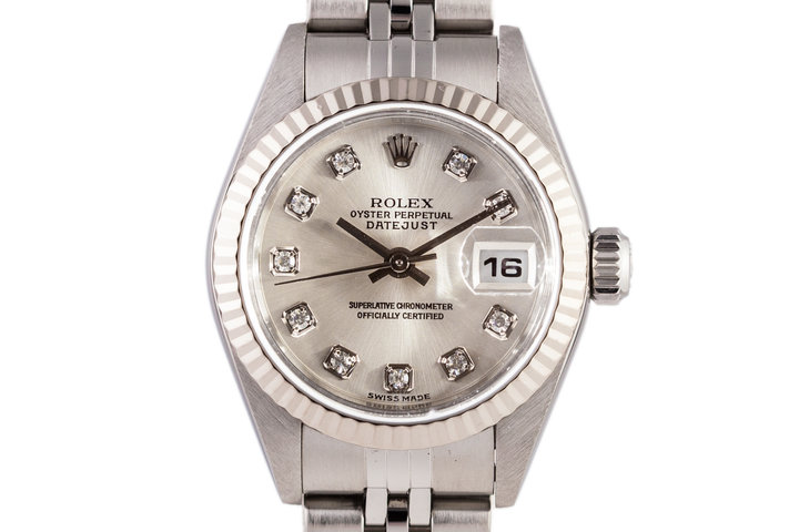 2002 Rolex Ladies Datejust 79174 with Factory Diamond Dial photo