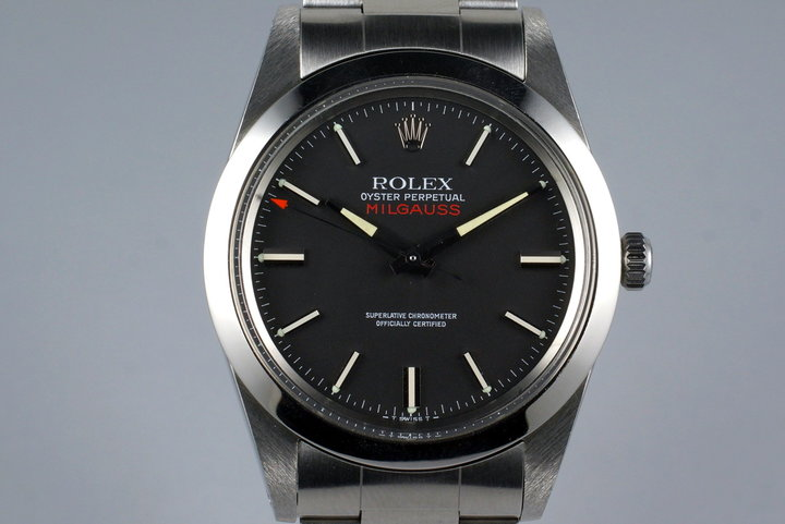 1979 Rolex Milgauss 1019 Black Dial with RSC Papers photo