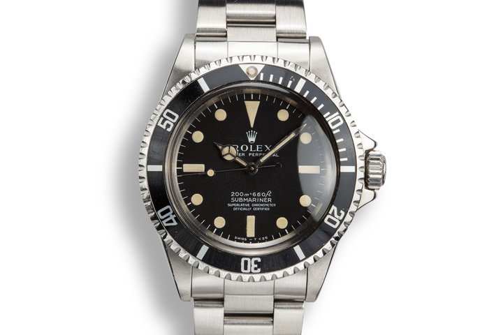 1967 Rolex Submariner 5512  with Meters First Dial photo