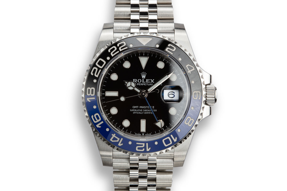 "2019 Rolex GMT-Master II 126710BLNR ""Batman"" with Box and Papers photo, #0"