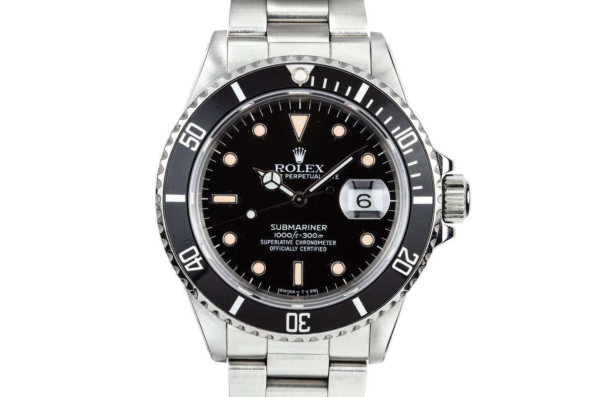 1986 Rolex Submariner 16800 photo, #0