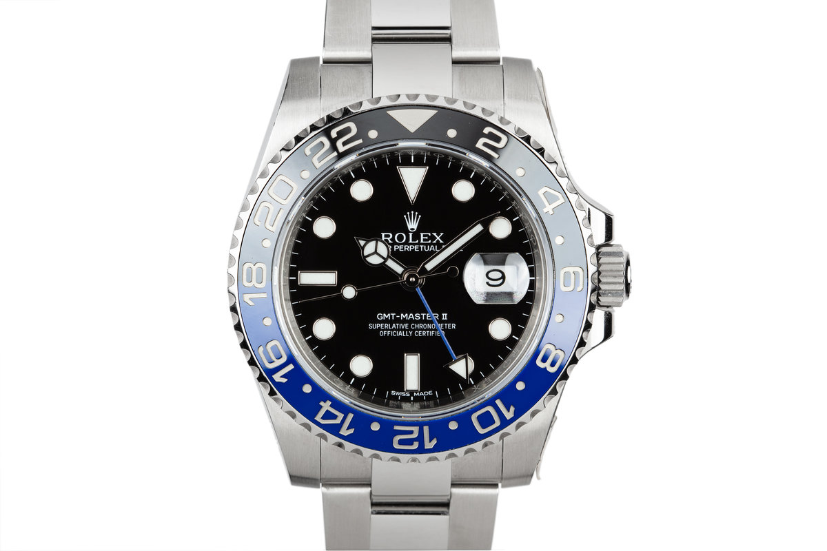 "2015 Rolex Gmt-Master II 116710BLNR ""Batman"" with Box and Papers photo, #0"