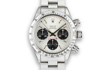 "1978 Rolex Daytona 6265 ""Big Red' Silver Dial photo"
