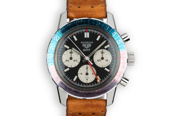 Heuer Autavia GMT Chronograph 2466C photo