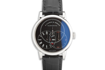 2019 A. Lange & Söhne Richard Lange Jumping Seconds 18k WG with Box and Papers photo