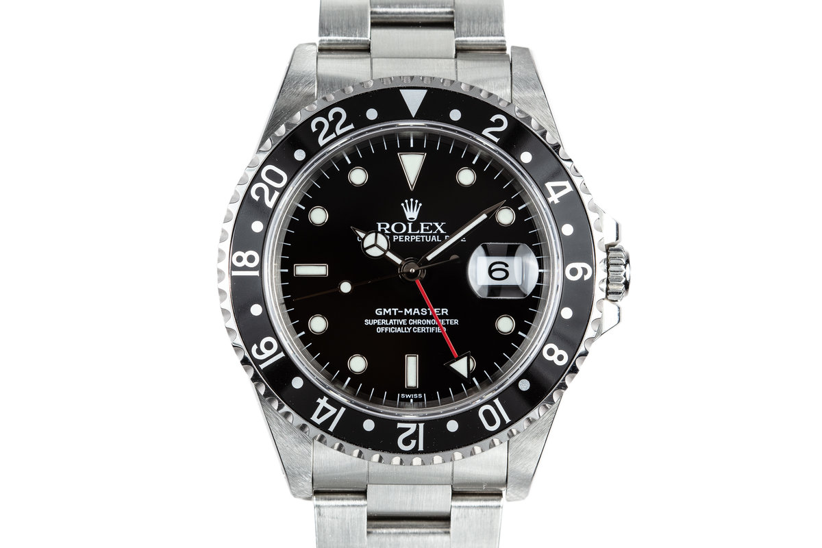 1999 Rolex GMT-Master 16700 SWISS Only Dial with Box and Papers photo, #0