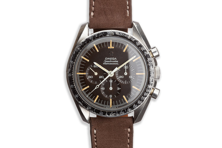 Vintage 1965 Omega Speedmaster Professional 105.003.65 Tropical Dial with DON Bezel photo