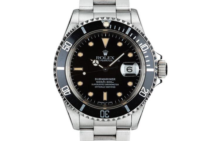 1991 Rolex Submariner 16610 photo