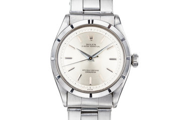 1954 Rolex Oyster Perpetual 6303 with Swiss Only Stepped Dial photo