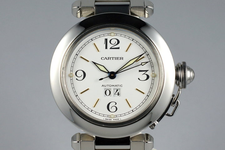 Cartier Pasha 'C' 2475 White Dial photo