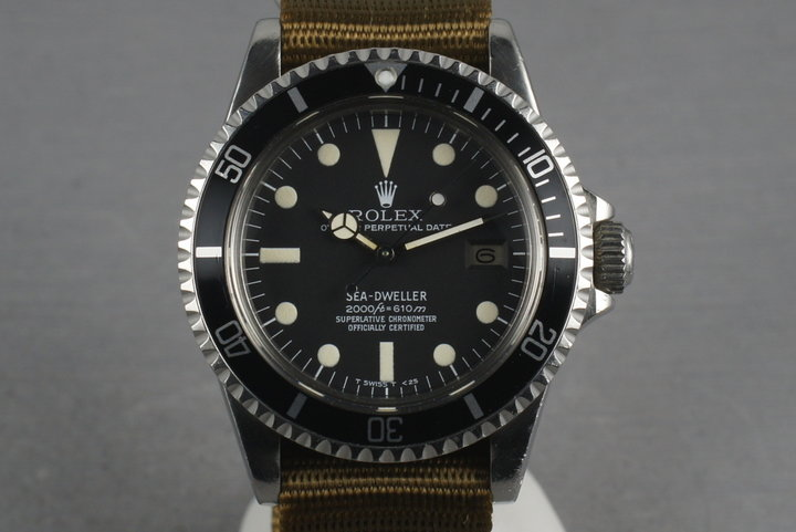 Rolex Sea Dweller 1665 Rail Dial on Nato photo