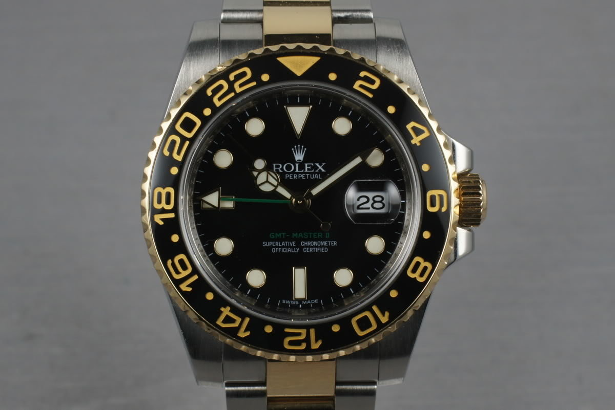 2010 Rolex Ceramic GMT 116713 with Box and Papers photo, #0