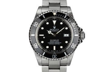 1990 Rolex Sea-Dweller 16600 photo