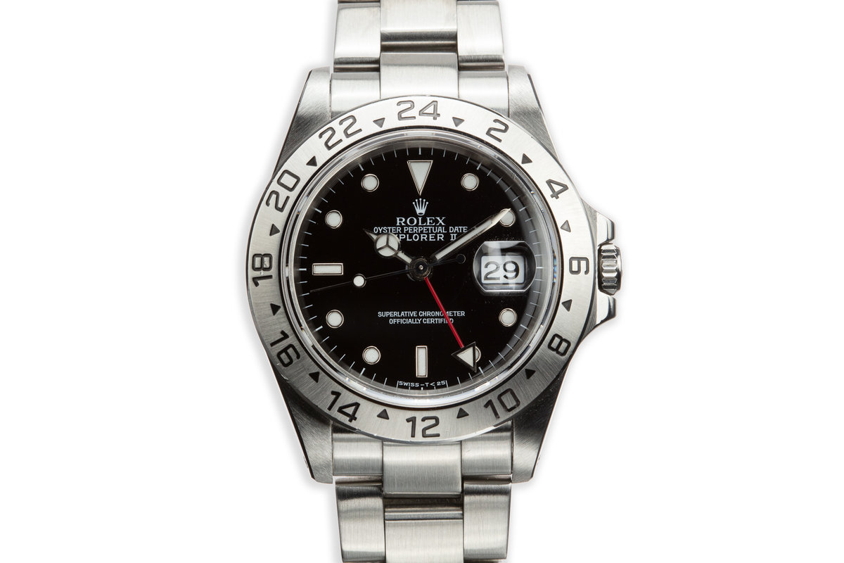 1995 Rolex Explorer II 16570 Black Dial photo, #0