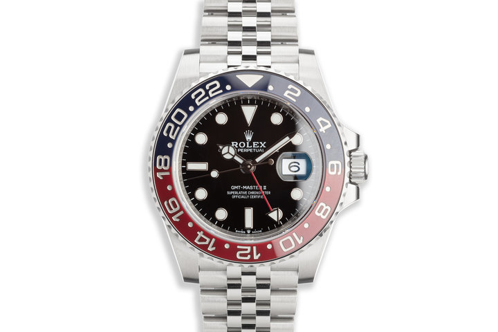 Unworn 2020 Rolex GMT-Master II 126710BLRO with Box and Card photo
