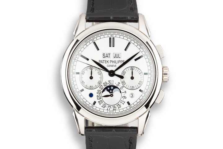 2013 Patek Philippe 18K White Gold Grand Complications 5270G Silver Dial with Box and Papers photo