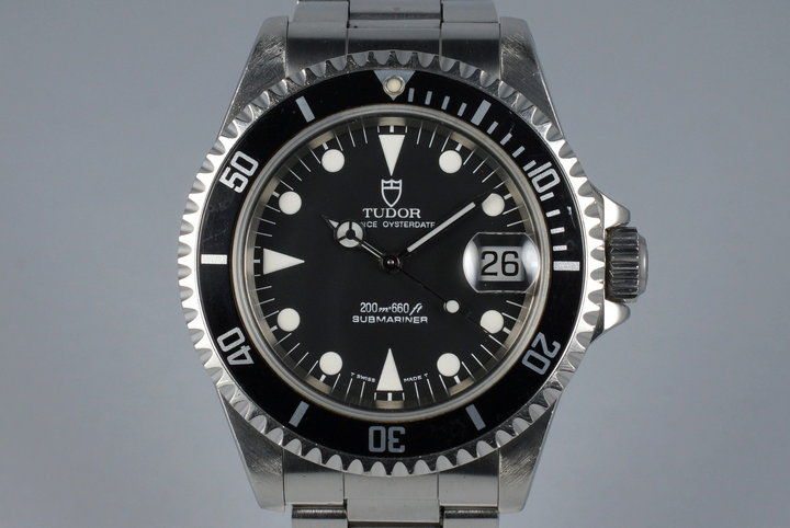 1995 Tudor Submariner 79190 with Papers photo