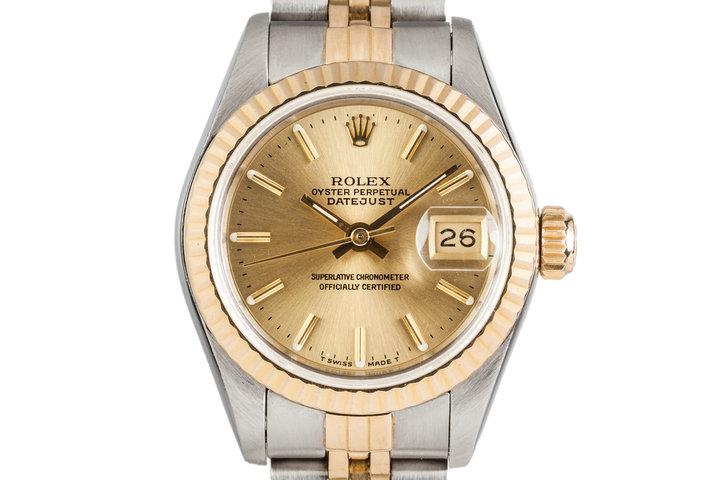 1988 Rolex Two Tone Ladies Datejust 69173 photo