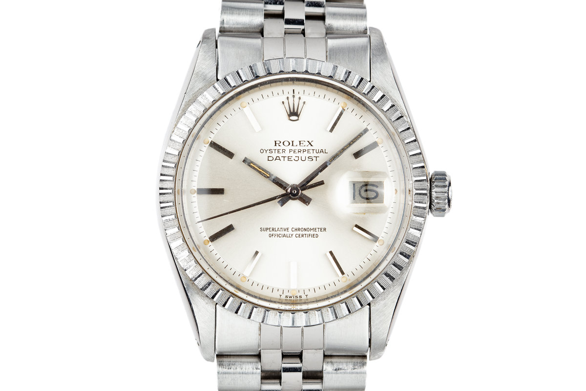 1977 Rolex DateJust 1603 Silver Dial photo, #0